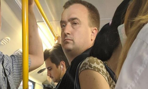 В Киеве извращенца поймали на горячем в маршрутке