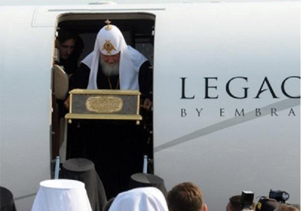 Ковер-самолет патриарха Кирилла