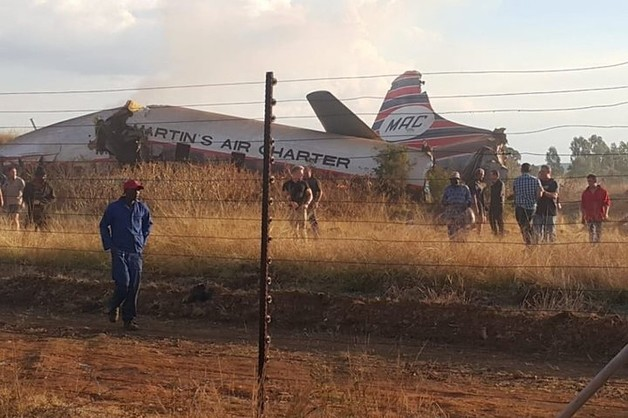 Крушение самолета в ЮАР: как это было
