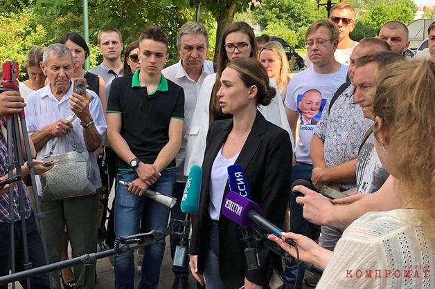 Суд снял жену арестованного Шестуна с выборов спустя две недели после регистрации