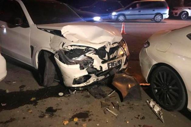 В Одессе племянник «вора в законе» Лавасоглы Батумского протаранил с полдесятка автомобилей