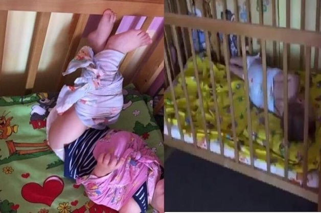 """«Лежат связанными в туалете, плачут, кричат """"мамочка""""». Свидетель передала в СК Астрахани видео с младенцами в детсаду"""