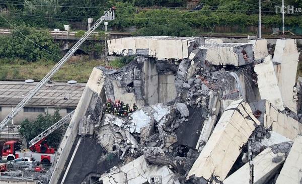 СМИ: О проблемах с мостом в Генуе знали еще в феврале