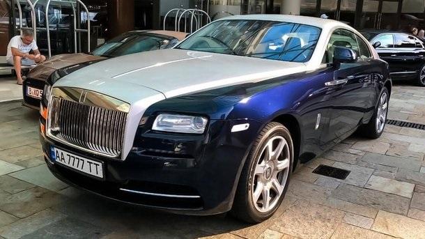 Rolls-Royce за 12 млн грн с эксклюзивными украинскими номерами обнаружили в Монако