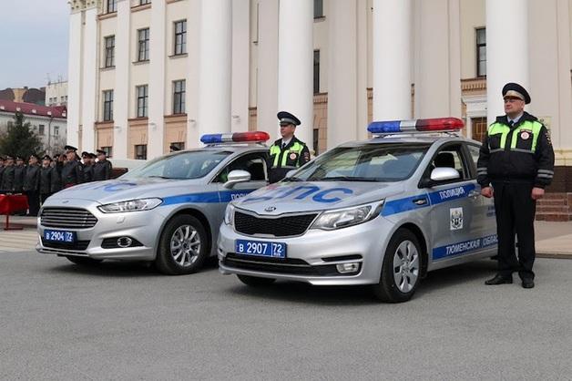 Правительство Тюменской области покупает полицейские машины и мотоциклы за 28 млн рублей