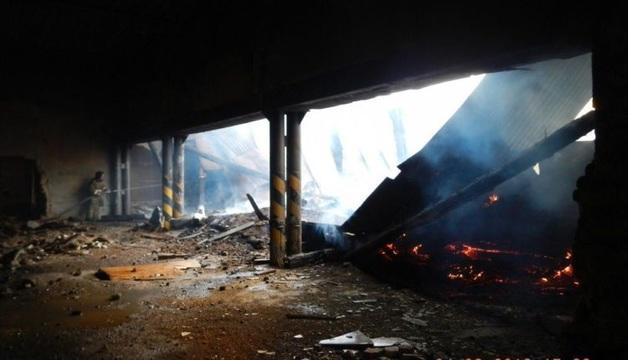 Сжигают следы? После публикации «Русской Прессы» сгорел центр военно-патриотического воспитания в Троицке