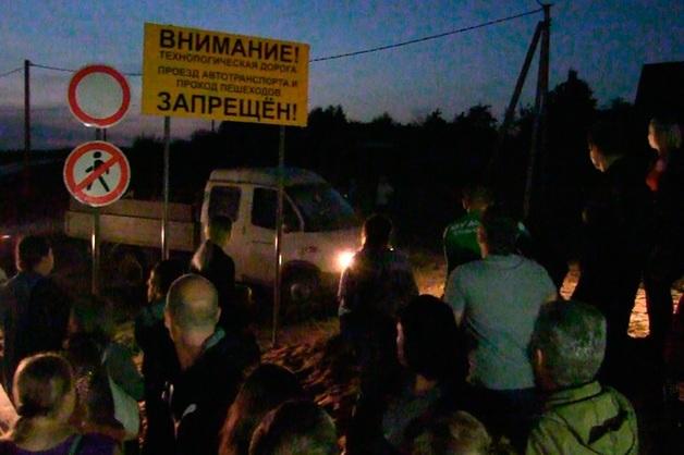 В Подмосковье на встрече жителей с кандидатом в губернаторы открыли стрельбу