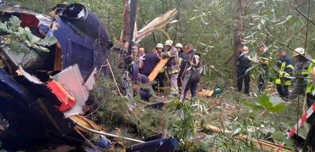 Вертолет, рухнувший на Труханов, оказался самым дорогим в Украине и принадлежащим миллионеру из команды Порошенко