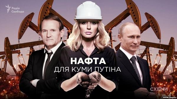 Журналисты нашли у Оксаны Марченко нефтяные месторождения в России