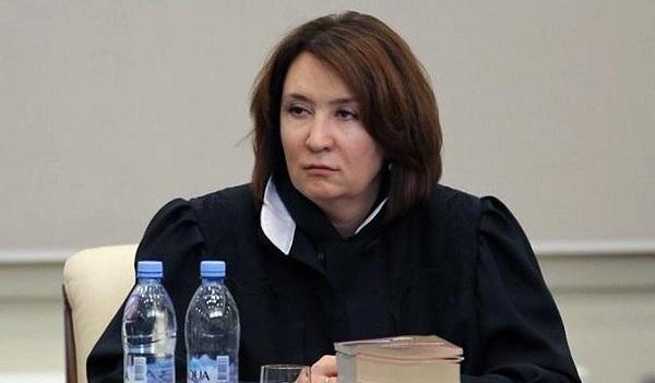 Судью Хахалеву вывели из Президиума Краснодарского краевого суда