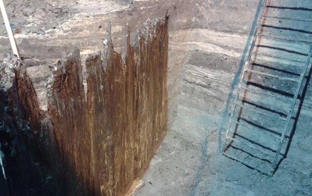 В центре Киева археологи раскопали улицу времен Киевской Руси