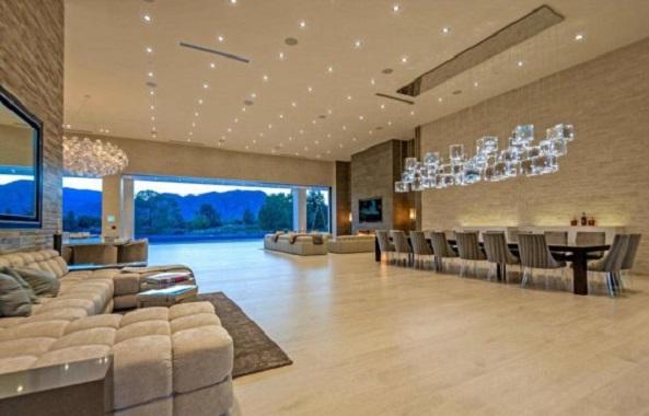 Дом мечты: показали роскошный семейный особняк Кардашьян за $ 12 млн