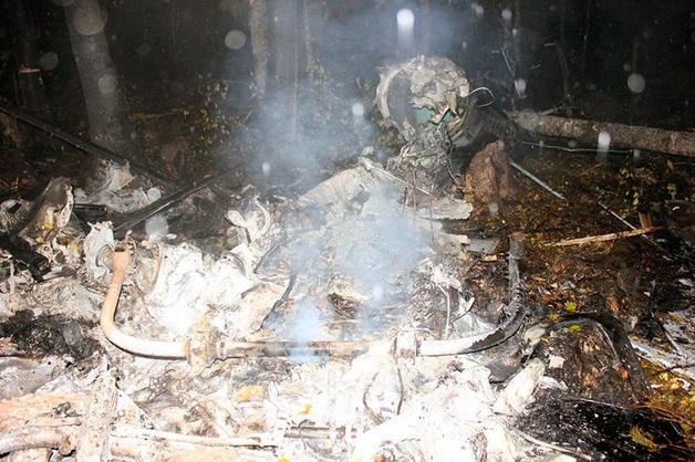 Стала известна личность четвертого погибшего при крушении вертолета в Костромской области