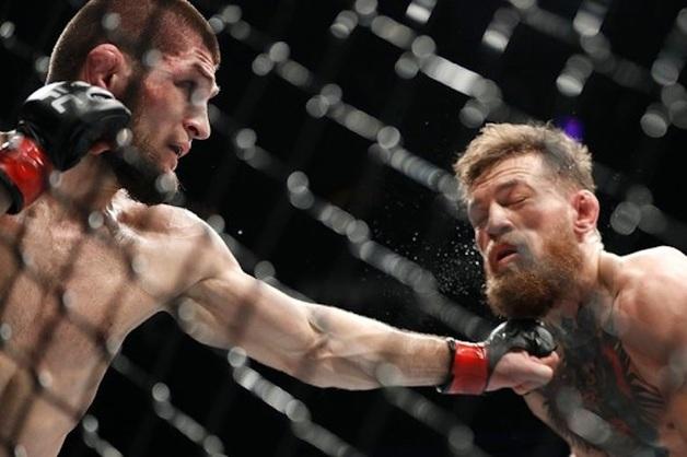 Нурмагомедов выиграл бой за титул чемпиона UFC у Макгрегора. После боя началась массовая драка