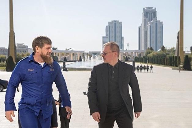 «Мне было интересно его компетентное мнение». Рамзан Кадыров встретился с сыном генпрокурора Артемом Чайкой