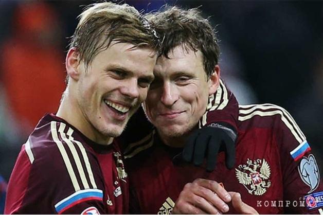 РФС допустил пожизненную дисквалификацию Кокорина и Мамаева из футбола