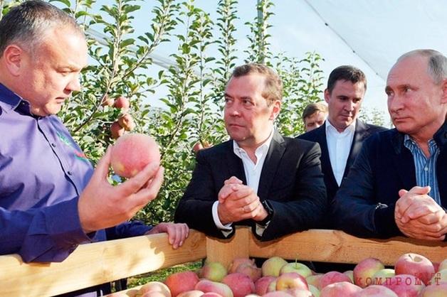 В сопровождавшем Путина в Ставрополье фермере узнали «рейдера и криминального авторитета»