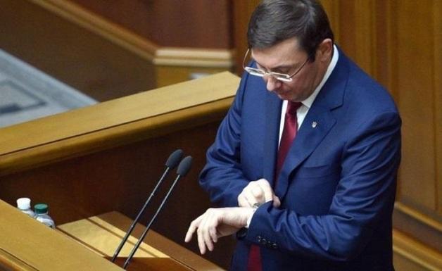 Юрий Луценко: время уходить?