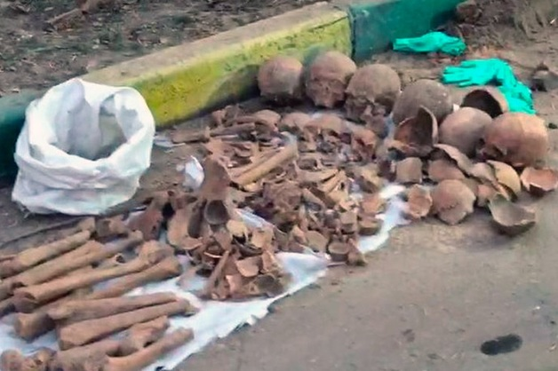 СК организовал проверку после обнаружения скелетов четырех человек в Москве