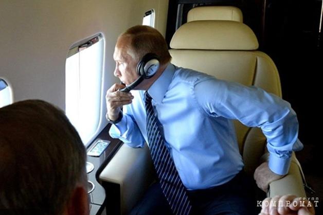 Песков рассказал о занятиях Путина во время перелетов