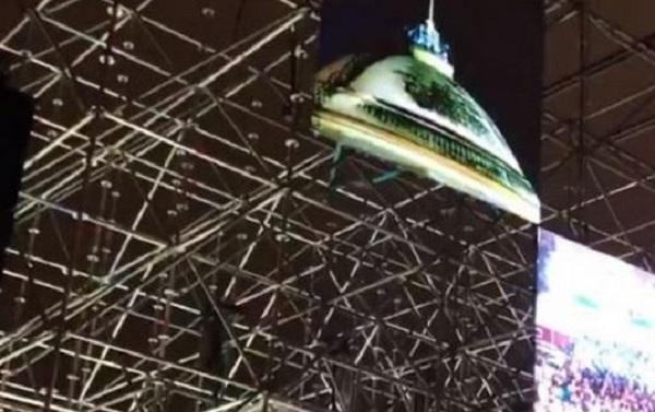 Обрушение московского моста в новогоднюю ночь: появилось новое страшное видео