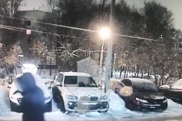 Опубликовано видео с подозреваемым в убийстве главы компании-подрядчика «Лукойла» в Москве