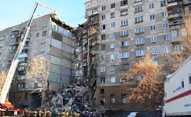 Под завалами дома в Магнитогорске погибла семья из Таджикистана