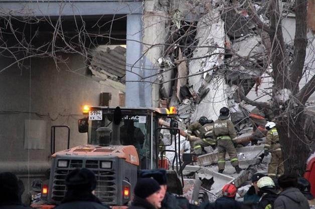 Начались выплаты пострадавшим при обрушении дома в Магнитогорске