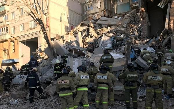 МЧС РФ завершило спасательную операцию в Магнитогорске. Найдены тела 39 погибших