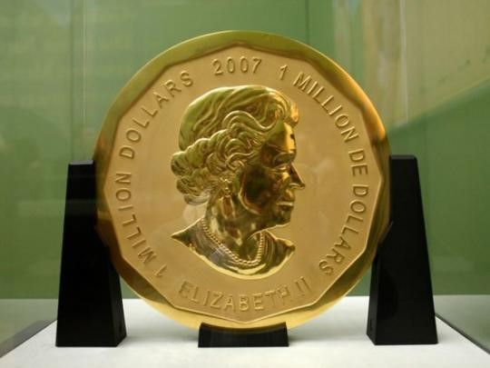 Дело о краже 100-килограммовой золотой монеты: в Берлине судят трех братьев-ливанцев