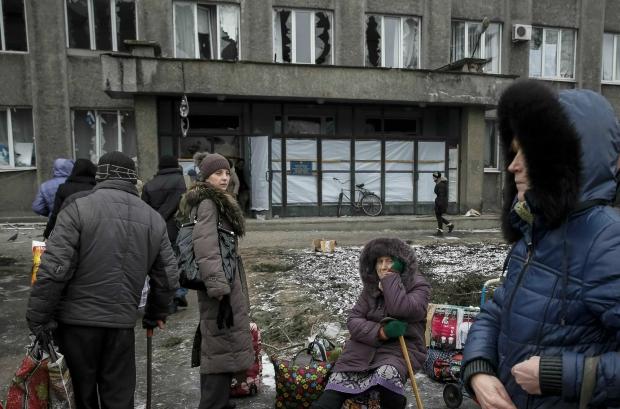 В Дебальцево не осталось целых домов - ОБСЕ