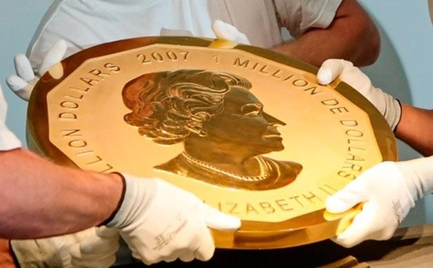 Арабская мафия украла у украинского олигарха монету. Ее вес — 100 килограммов
