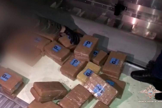 В Петербург с бананами из Эквадора пришло 50 кг наркотиков на 500 млн рублей. На хранение груз взяла полиция