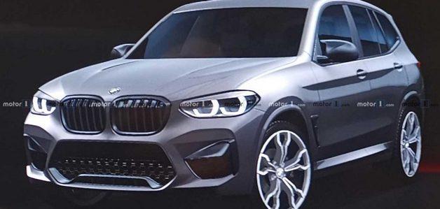 Новый кроссовер BMW рассекретили по чистой случайности