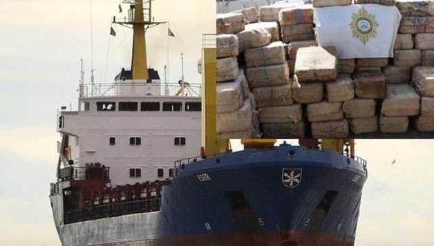 В Кабо-Верде задержали 11 российских моряков с почти 10 тоннами кокаина на судне