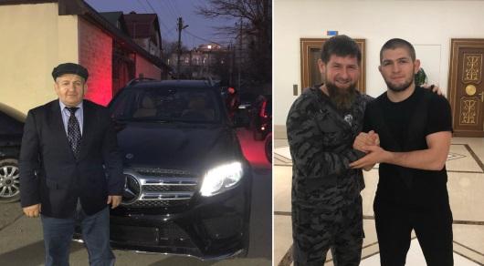 Рамзан Кадыров подарил Mercedes отцу Хабиба Нурмагомедова