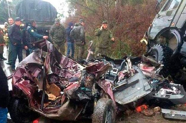 Российский военный погиб в ДТП с «КамАЗом» в Абхазии