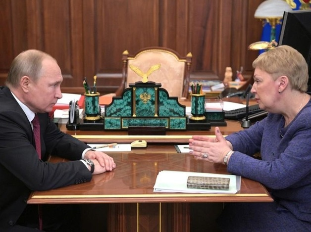 Путин и Васильева посчитали зарплаты учителей. По-своему