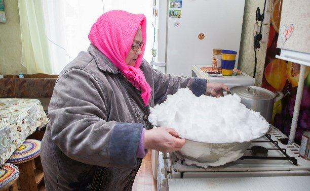 Борьба с дефицитом питьевой воды по-русски: якутам предложили топить снег