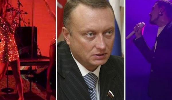 Лобода и Дорн засветились на вечеринке сенатора РФ