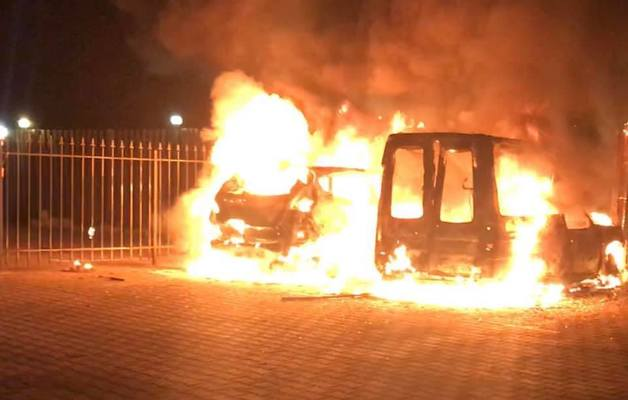 В Киеве сожгли машину блогера. которому угрожал прокурор