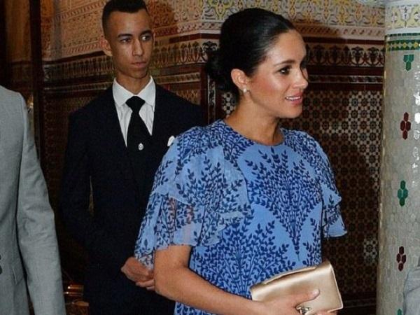Потратившая 140 тысяч долларов на трехдневный гардероб Меган Маркл вызвала восхищение королевы