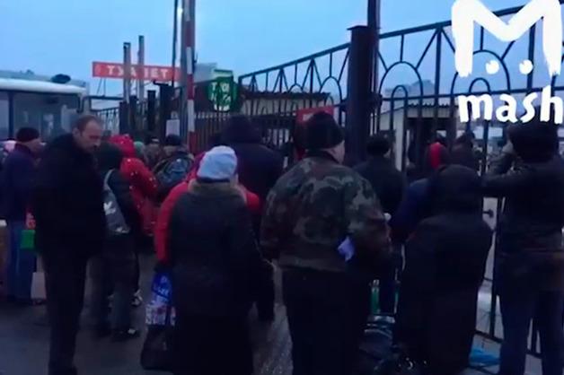 Полиция и ОМОН пришли с обысками в торговый центр «Москва» в Люблино