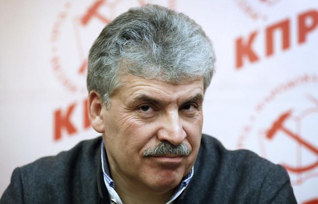 Павел Грудинин займет место умершего физика Жореса Алферова в Госдуме