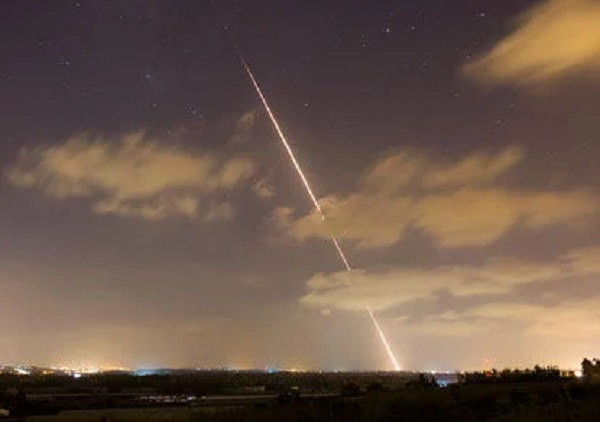 По Тель-Авиву выпустили ракеты из сектора Газа