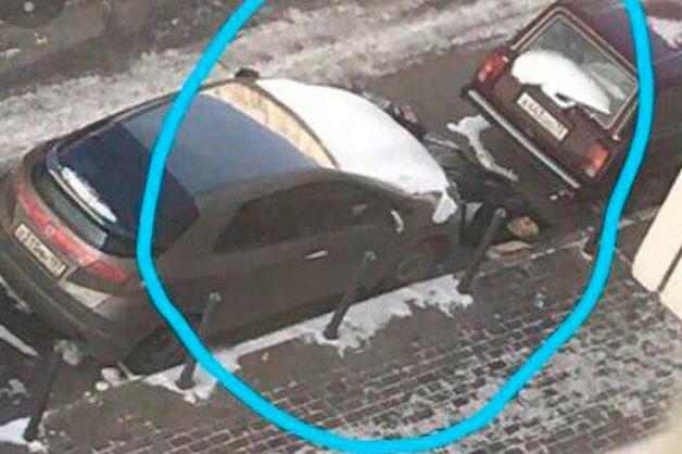 Опубликовано видео с места убийства предпринимателя в Мытищах