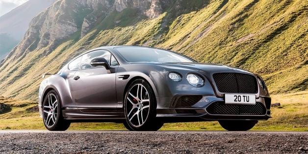 Пафос от Bentley: представлено самое быстрое четырехместное купе в мире