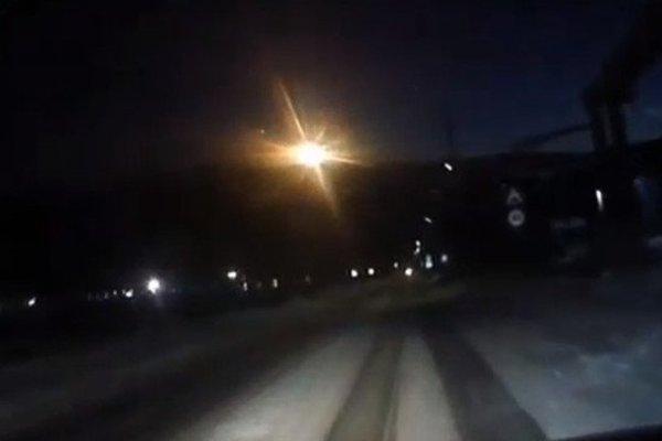 В России рухнул метеорит