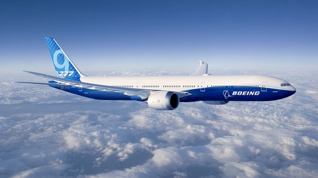 Компания Boeing представила новую самую большую в мире модель самолета − 777X