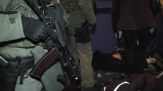 В Киеве полиция задержала налетчиков на залы нелегальных игровых автоматов